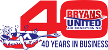 Bryans United 40th Logo2